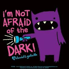 DAVID & GOLIATH - I´m Not Afraid Of The Dark - Aufkleber Sticker - Neu #197