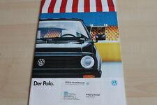 141676) VW Polo Prospekt 01/1990