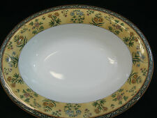 "Wedgwood China India ~ 9 7/8"" Oval Serving Bowl~MiNT Condition~ Made in England"