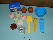 Vintage Fisher Price Fun With Food Muffins Duncan Hines Cookies Desserts EUC!