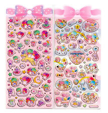 Sanrio Little Twin Stars Sticker Sheet stickers kawaii Japan Lot