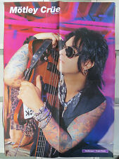 MOTLEY CRUE / DAVE LEE ROTH : DOBLE POSTER (SPANISH MAGAZINE)