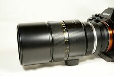 Leica Leitz Elmarit R 180mm f/2.8 prime lens, bundle Sony E mount adapter