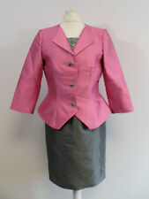 Carla Ruiz Mother Of THe Bride Dress Suit - Pink & Grey - Size 8-10 - Box6441 C