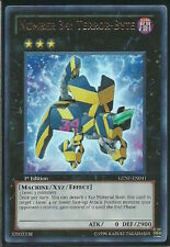 "Yu-Gi-Oh! ""NUMBER 34: TERROR-BYTE"" GENF-EN041 1st EDITION ULTRA RARE YuGiOh GOLD"