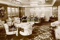 rp8657 - Queen Mary - Tourist Class Library - photo 6x4
