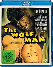 THE WOLF MAN, Der Wolfsmensch (Lon Chaney, Claude Rains) Blu-ray Disc NEU+OVP