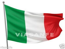 Bandiera Italia 150x90cm TRICOLORE Qualità Italiana Mondiali Occhielli Per Asta