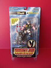 "Macfarlane Toys Youngblood  ""Troll""   w/Sled Ultra Action 4""in Figure"