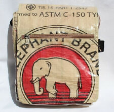 Elephant Brand Recycled Deluxe Small Messenger Bags made in Cambodia! Fair Trade