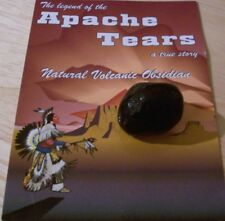 APACHE TEARS - ONE NATURAL ROCK  SEALED IN PACK WITH INFORMATION GUIDE