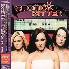 Right Now (Worldwide Version) by Atomic Kitten (CD, Sep-2000, Emi/Virgin)