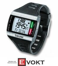 Beurer Heart Rate Monitor PM62 Stainless Watch EKG Fitness Test Pro Genuine New