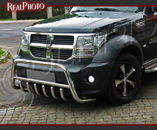 DODGE NITRO BULL BAR, NUDGE BAR, A BAR / STAINLESS STEEL !