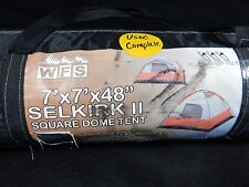 WFS 3-PERSON CABIN DOME TENT OUTDOOR HUNTING CAMPING HIKING 7X7X48-1-5