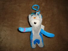 2012 London Olympic Games Paralympic Mascot Mandeville Plush keychain
