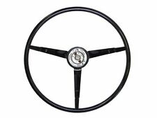 1965 1966 Ford Mustang Reproduction Black Steering Wheel