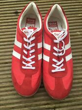 GOLA HARRIER RED TRAINERS U.K. 10