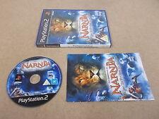 PS2 playstation 2 pal jeu the chronicles of narnia avec boite instructions