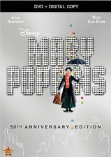 Mary Poppins: 50th Anniversary Edition (DVD, 2013) NEW