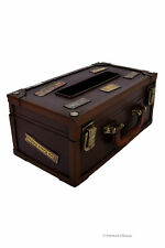 Vintage Travel Suitcase Trunk Kleenex Tissue Dispenser Box Cover Holder
