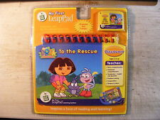 Dora The Explorer To The Rescue Leap Pad Learning System Cartridge w/Book NEW!