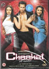 CHAAHAT - EK NASHA - ORIGINAL BOLLYWOOD DVD - FREE UK POST