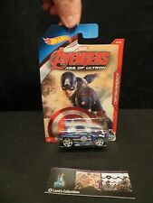 Captain America Power Rage Avengers Age of Ultron Hot wheels 5/8 die cast car