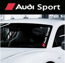 Car Styling `AUDI SPORT` for Screens - Decal Sticker any Bodywork! Any Audi!