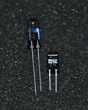 1 pair (1 of each) BPW83 photodiode and  TSUS5400 Emitter  (L4141)