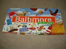 Baltimore in a Box Board Game Late for the Sky Monopoly Complete