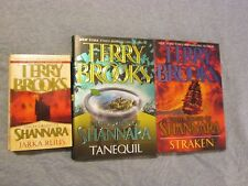 Terry Brooks COMPLETE The High Druid of Sharnara 3 Books Lot Excellent EUC  B15