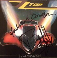 ZZ Top - Eliminator Signed Autographed Cd