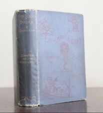 Nonsense Books by Edward Lear Roberts Brothers, hardcover 1900, Illustrated