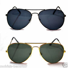 COMBO Black & Gold Aviator  Sunglasses Black Premium Quality For Men & Women