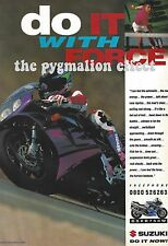 a 1993 Motorcycle 1-Page Advert - Suzuki GSX-R750W - Motorcycle International