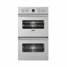 """Viking VEDO5272SS 27"""" Double Electric Wall Oven  Stainless Steel"""