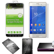 REAL TEMPERED GLASS FILM LCD SCREEN PROTECTOR FOR SONY XPERIA Z3