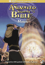 New! Animated Stories from the Bible - Moses (DVD, 2008)
