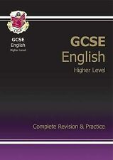 GCSE English Complete Revision & Practice - Higher by CGP Books (Paperback,...