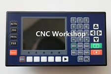 Free shipping 3 axis 3.5 Inch Color LCD CNC stepper servo controller  lathe PLC