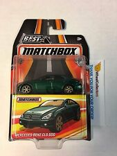 Mercedes-Benz CLS 500 * Green * Matchbox BEST OF 2016 w/ Real Riders * N16