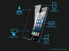 100% Genuine Tempered Glass Film Screen Protector for Apple iPhone5 5s -New