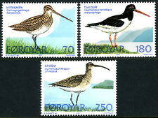 Faroe Islands 28-30, MNH. Birds: Common Snipe, Oystercatcher, Whimbnel, 1977