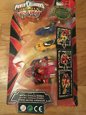 Power Rangers jungle fury Micro animal zords megazords A  New in blister package