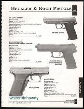 2002 HECKLER & KOCH HK USP Expert, Mark 23 Special Operaqtions, P7M8 Pistol AD