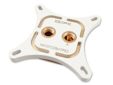 XSPC RayStorm Pro CPU Water Cooling Block Intel White