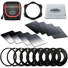Rangers Clarity Series ND Filter kit Includes Full ND2 ND4 ND8 ND16 Filters +...