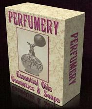 PERFUMERY 47 Vintage Books on DVD Perfume, Essential Oils, Soap Making Olfaction