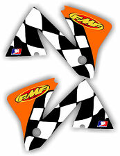 2001-2002 KTM FMF Shroud Graphic Kit 200 250 380 400 450 520 01-02 EXC MXC